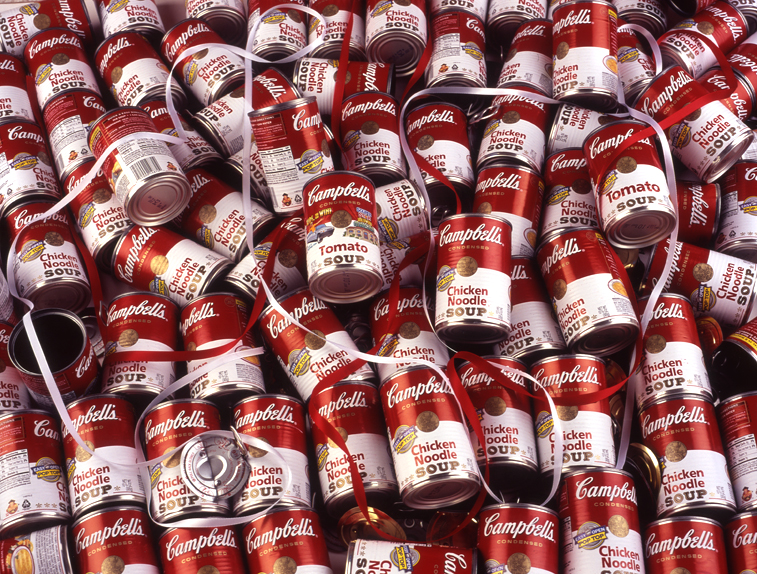 photo of Campbell's soup cans